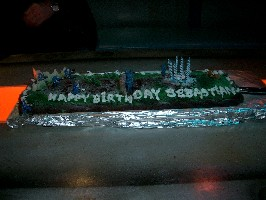 Sebastian's 9th Birthday Cake