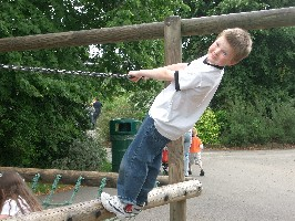 Sebastian at Chester Zoo