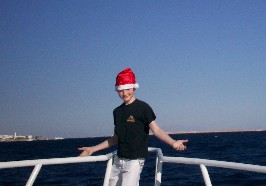 Sebastian on the Red Sea