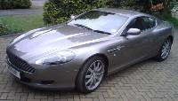 Grey Aston Martin DB9