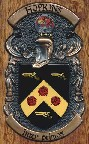 Hopkins family crest coat of arms