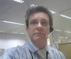 Trevor wearing a headset